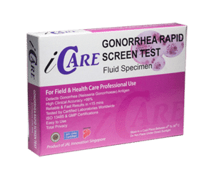 iCare Gonorrhea home test
